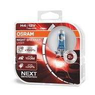 OSRAM H4 OSRAM NIGHT BREAKER LASER 64193NL-HCB (2 шт), фото 1