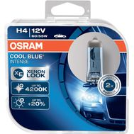 H4 OSRAM COOL BLUE® INTENSE 64193CBI - HCB (2 шт), фото 1