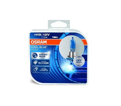 OSRAM H9 COOL BLUE BOOST 62213CBB-HCB, фото 1