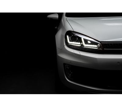 Фары Golf 6 OSRAM LEDriving Xenarc LEDHL102-CH Edition Chrome ксенон, фото 11