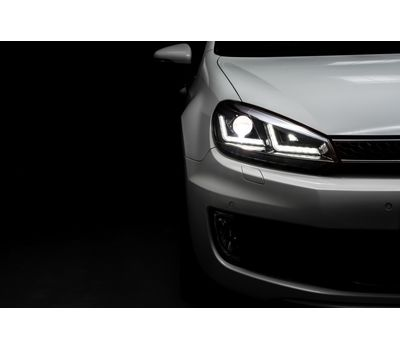 Фары Golf 6 OSRAM LEDriving Xenarc LEDHL102-CH Edition Chrome ксенон, фото 12