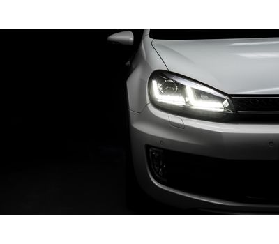 Фары Golf 6 OSRAM LEDriving Xenarc LEDHL102-CH Edition Chrome ксенон, фото 13