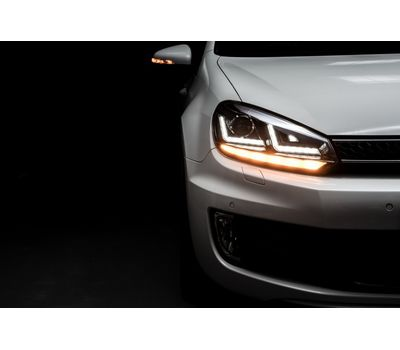 Фары Golf 6 OSRAM LEDriving Xenarc LEDHL102-CH Edition Chrome ксенон, фото 2