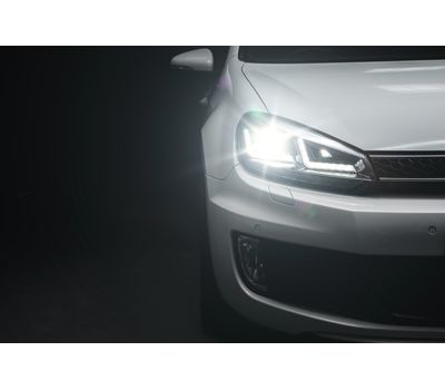 Фары Golf 6 OSRAM LEDriving Xenarc LEDHL102-CH Edition Chrome ксенон, фото 4