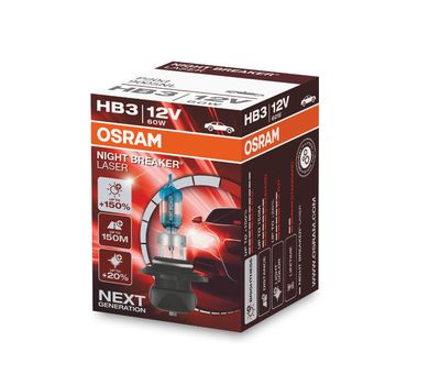 OSRAM HB3 NIGHT BREAKER LASER 9005NL, фото 1